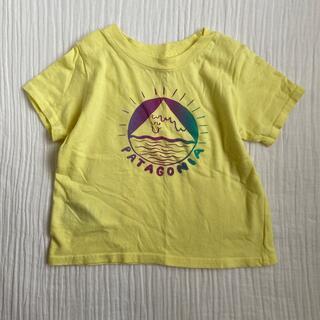 patagonia Tシャツ 半袖 マウンテン イエロー(Tシャツ)