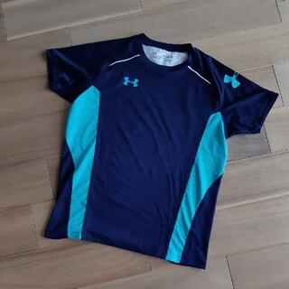 UNDER ARMOUR - UNDER ARMOUR*160*半袖Tシャツ*ネイビー*スポーツ*速乾*ドライ