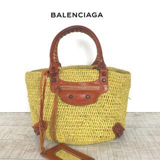 バレンシアガ(Balenciaga)のBALENCIAGA バレンシアガ カゴバッグ (かごバッグ/ストローバッグ)