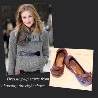Aphrodite フラットシューズ(ローファー/革靴)