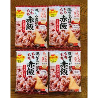 キッコーマン(キッコーマン)のうちのごはん もちもち赤飯 4袋 (調味料)