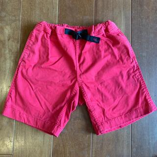 グラミチ(GRAMICCI)のGRAMICCI グラミチ kids ショートパンツ 120cm  赤(パンツ/スパッツ)
