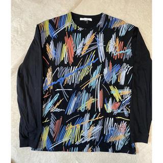 BAGARCH 総柄ロングTシャツ(Tシャツ/カットソー(七分/長袖))