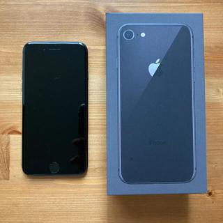 アイフォーン(iPhone)のiPhone8  64GB  本体 SIMフリー(スマートフォン本体)