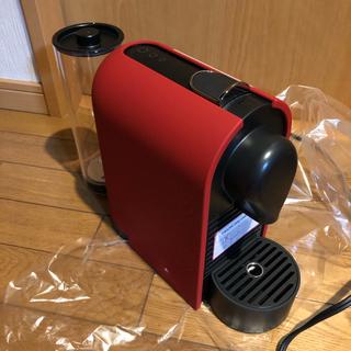 ネスレ(Nestle)の展示品 美品 Nespresso U(ユー) マットレッド C50MR(エスプレッソマシン)