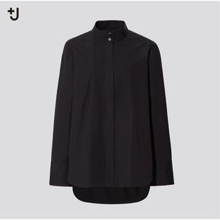 ユニクロ(UNIQLO)のユニクロ スーピマコットンタックシャツ(シャツ/ブラウス(長袖/七分))
