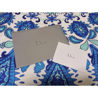 ディオール(Dior)のDior封筒 メッセージカード(カード/レター/ラッピング)