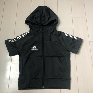 adidas - アディダス 半袖 パーカー 100