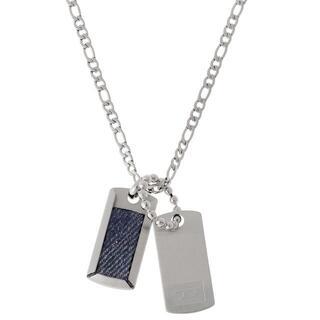 ディーゼル(DIESEL)のディーゼル DIESEL ダブルプレート ドッグタグ ネックレス (ネックレス)