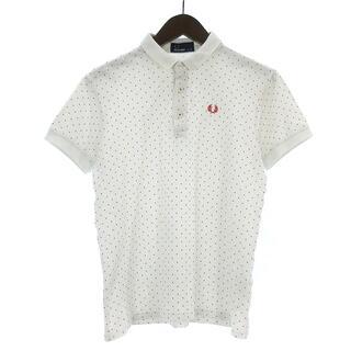 フレッドペリー(FRED PERRY)のフレッドペリー ポロシャツ チェンジカラードット ロゴ 刺繍 白 M ■SM(その他)