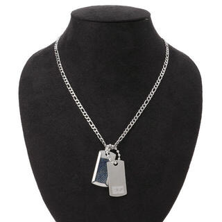 ディーゼル(DIESEL)のディーゼル DIESEL ダブルプレート ドッグタグ ネックレス SALE(ネックレス)