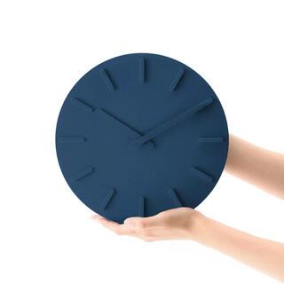 プラスマイナスゼロ(±0)のプラスマイナスゼロ ウォールクロック ZZC-X020 ブルー(置時計)