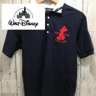 ディズニー(Disney)のポロシャツ ディズニー 激レア ネイビー Mサイズ ビッグポニー(ポロシャツ)