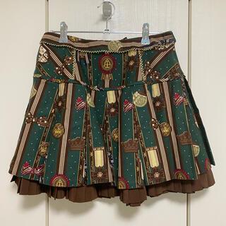 アンジェリックプリティー(Angelic Pretty)の〖値下げしました〗Chocolate Rosette スカート(ひざ丈スカート)
