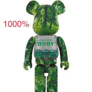 MY FIRST BE@RBRICK B@BY GREEN1000%ベアブリック(その他)