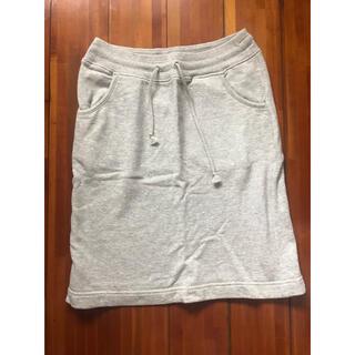 ムジルシリョウヒン(MUJI (無印良品))のスカート(ひざ丈スカート)