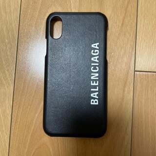 バレンシアガ(Balenciaga)のバレンシアガ iPhoneケース X XS ブラック (iPhoneケース)