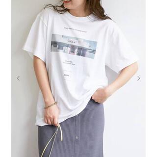 イエナスローブ(IENA SLOBE)の今期☆グラフィックフォトTシャツ(Tシャツ/カットソー(半袖/袖なし))