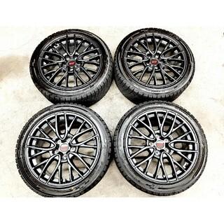 スバル(スバル)の【極上品】スバル WRX STI純正ホイール  245/40R18 スタッドレス(タイヤ・ホイールセット)
