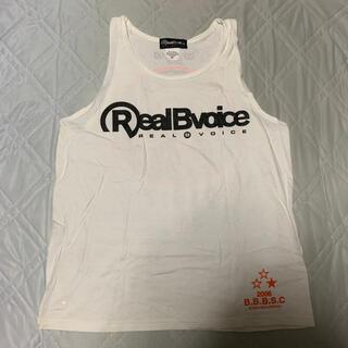 RealBvoice - REAL B VOICE タンクトップ White M