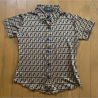 フェンディ(FENDI)のFENDI シャツ ズッカ柄 超美品 もも様(ポロシャツ)