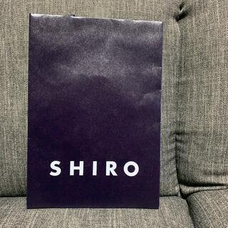 シロ(shiro)のシロ紙袋(ショップ袋)