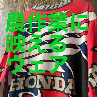 ホンダ(ホンダ)の【HONDA】モトクロス ウェア RS TAICHI レッド系 L(モトクロス用品)