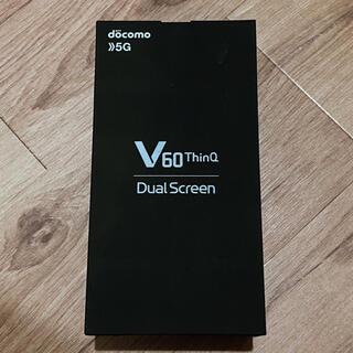 エルジーエレクトロニクス(LG Electronics)のLG V60 ThinQ 5G L-51A(スマートフォン本体)