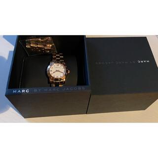 マークバイマークジェイコブス(MARC BY MARC JACOBS)のMARC BY MARC JACOBS 時計 レディース ピンクゴールド(腕時計(アナログ))