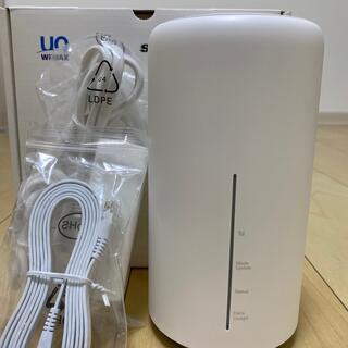 ファーウェイ(HUAWEI)のUQWiMAX Speed Wi-Fi HOME L02(PC周辺機器)