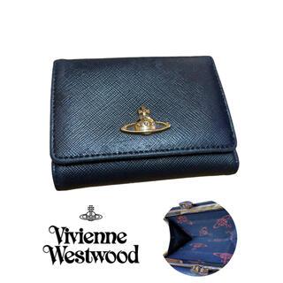 ヴィヴィアンウエストウッド(Vivienne Westwood)のヴィヴィアン ウエストウッド がま口 2つ折り財布 レザー(財布)