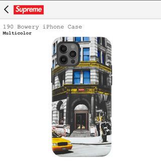 シュプリーム(Supreme)のsupreme iphone case(iphone12pro)(iPhoneケース)