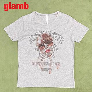 グラム(glamb)の【人気】glamb グラム Christina CS カットソー プリントT(Tシャツ/カットソー(半袖/袖なし))