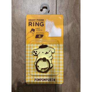 ポムポムプリン - サンリオ ポムポムプリン スマホリング スマホスタンド 新品