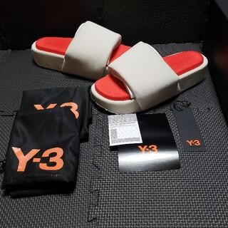 Y-3 - Y-3 SLIDE ワイスリースライド サンダル 新品未使用