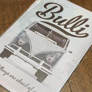 Bulli ワーゲンバス ブリキ看板