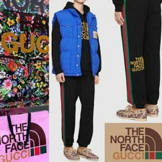 グッチ(Gucci)のグッチ ノースフェイス THE NORTH FACE コラボ パンツ スウェット(その他)
