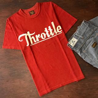 フリーホイーラーズ(FREEWHEELERS)の入手困難 即完売品 1725022 フリーホイーラーズ Throttle TEE(Tシャツ/カットソー(半袖/袖なし))