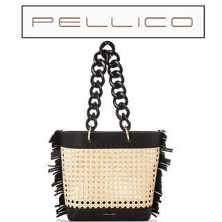ペリーコ(PELLICO)の1 PELLICO(ペリーコ) バッグ KATIA MINI かごバッグ  肩掛(かごバッグ/ストローバッグ)