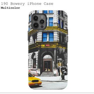 シュプリーム(Supreme)の190 Bowery iPhone Case iPhone12 12Pro(iPhoneケース)