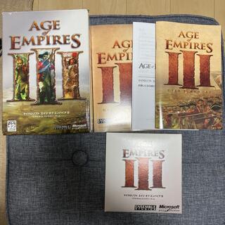 マイクロソフト(Microsoft)のAGE of EMPIRES III(PCゲームソフト)