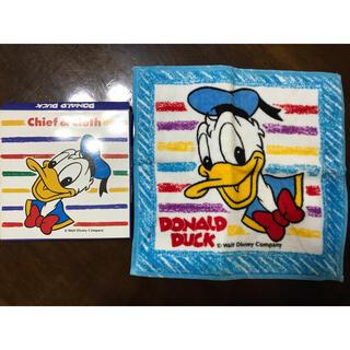 Disney - 新品 ドナルドダック タオル ハンカチ