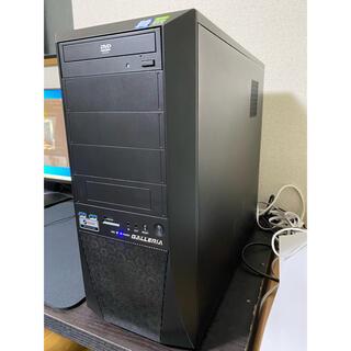半額レベル!ガレリアzz i9 9900kf rtx2080ti ゲーミングpc(デスクトップ型PC)