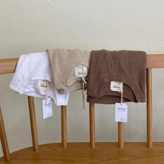 カスタネ(Kastane)のlawgy  simple rafuT beige(Tシャツ(長袖/七分))