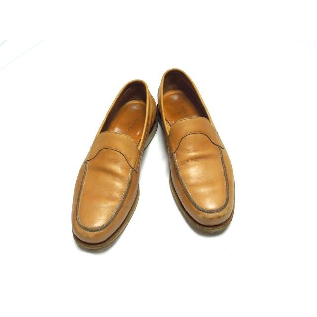 JOHN LOBB(ジョンロブ)のJOHN LOBB TOBASO ライトベージュ ローファー 9.5E メンズの靴/シューズ(スリッポン/モカシン)の商品写真