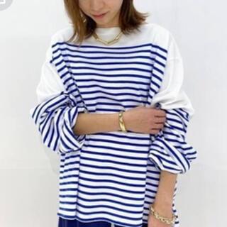 ドゥーズィエムクラス(DEUXIEME CLASSE)のサード ボーダーシャツ(Tシャツ(長袖/七分))