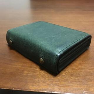 エムピウ(m+)の【エムピウ】ミッレフォッリエ P25 財布 グリーン(折り財布)