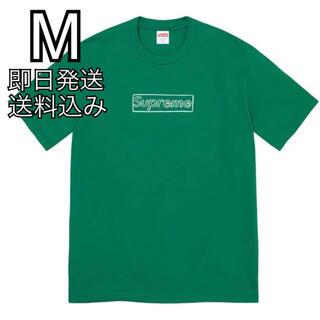 シュプリーム(Supreme)のM Supreme KAWS Chalk Logo Tee(Tシャツ/カットソー(半袖/袖なし))
