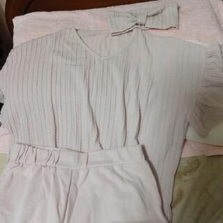 オリーブデオリーブ(OLIVEdesOLIVE)のオリーブデオリーブのティシャツとショートパンツとダーバンのセットお値下げ(セット/コーデ)