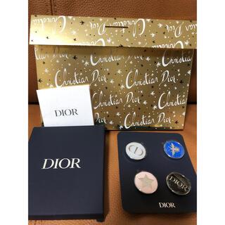 クリスチャンディオール(Christian Dior)の限定割引最新 ディオール ノベルティ ピンバッジ セット(ブローチ/コサージュ)